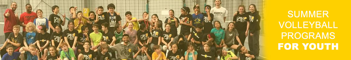 Summer Mississauga Volleyball Programs for Youth